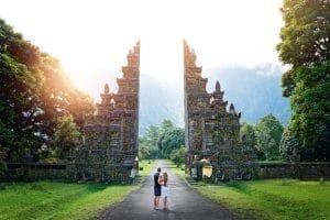 Bali Handara Gate Instagram